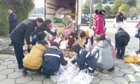 义卖紫薯 帮助湖南最穷乡村