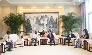 埃塞俄比亚国家电视台关注三一在埃发展