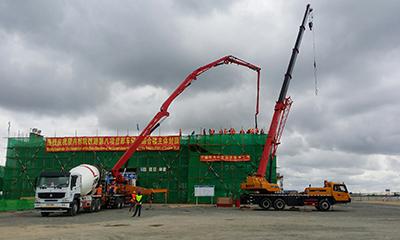 三一设备全线参与*条海外全中国标准铁路蒙内铁路建设