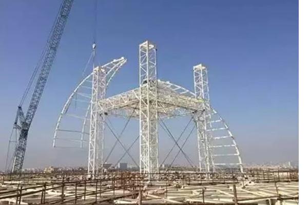 三一40多台设备建设世界第三大清真寺