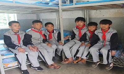三一寒冬之前送温暖,160套棉被交付山区学子