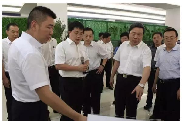 中国科协党组书记、常务副主席尚勇考察三一