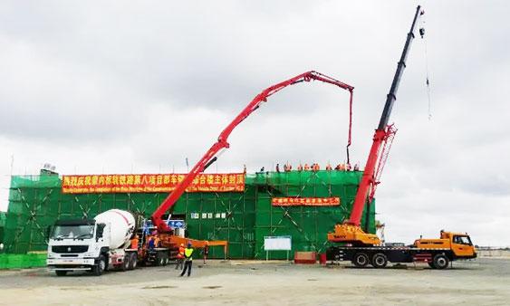 """三一C8泵车:三股""""洪荒之力""""征服东非大草原"""