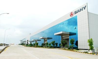 三一印度本年度第1000台设备在普纳产业园成功下线