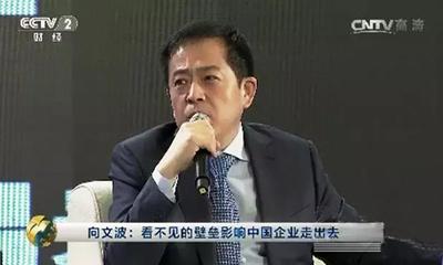 三一重工总裁向文波《对话》国际化投资机遇