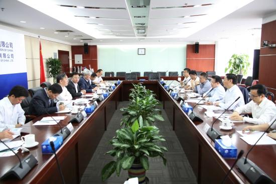 梁稳根到访中国电建:推动双方合作再升级
