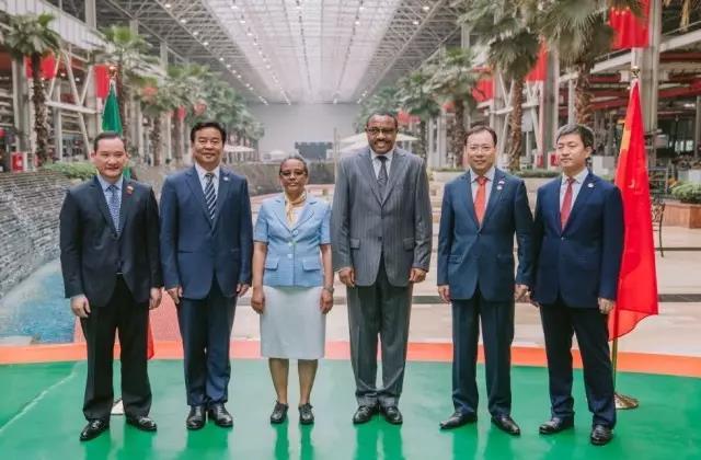 """重磅丨埃塞总理海尔马里亚姆到访三一 赞三一是""""一带一路""""标杆"""