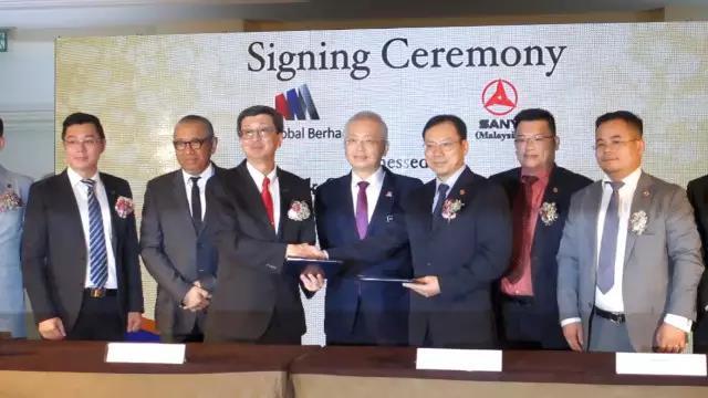 三一集团与马来西亚林木生集团签署协议,将成立合资公司