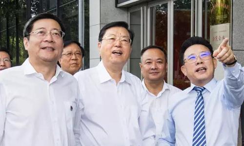 """张德江委员长视察三一:盛赞三一""""是中国的一张名片"""""""