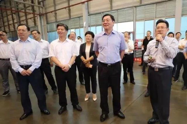 湖南省委书记杜家毫考察三一中源,鼓励三一打造一流的工程机械品牌