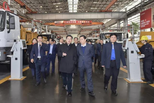 湖南省地税局局长周巧艺调研三一,助推企业发展