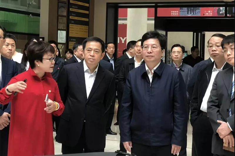胡衡华赴申博太阳城众智新城现场办公 ,全力支持骨干企业转型升级