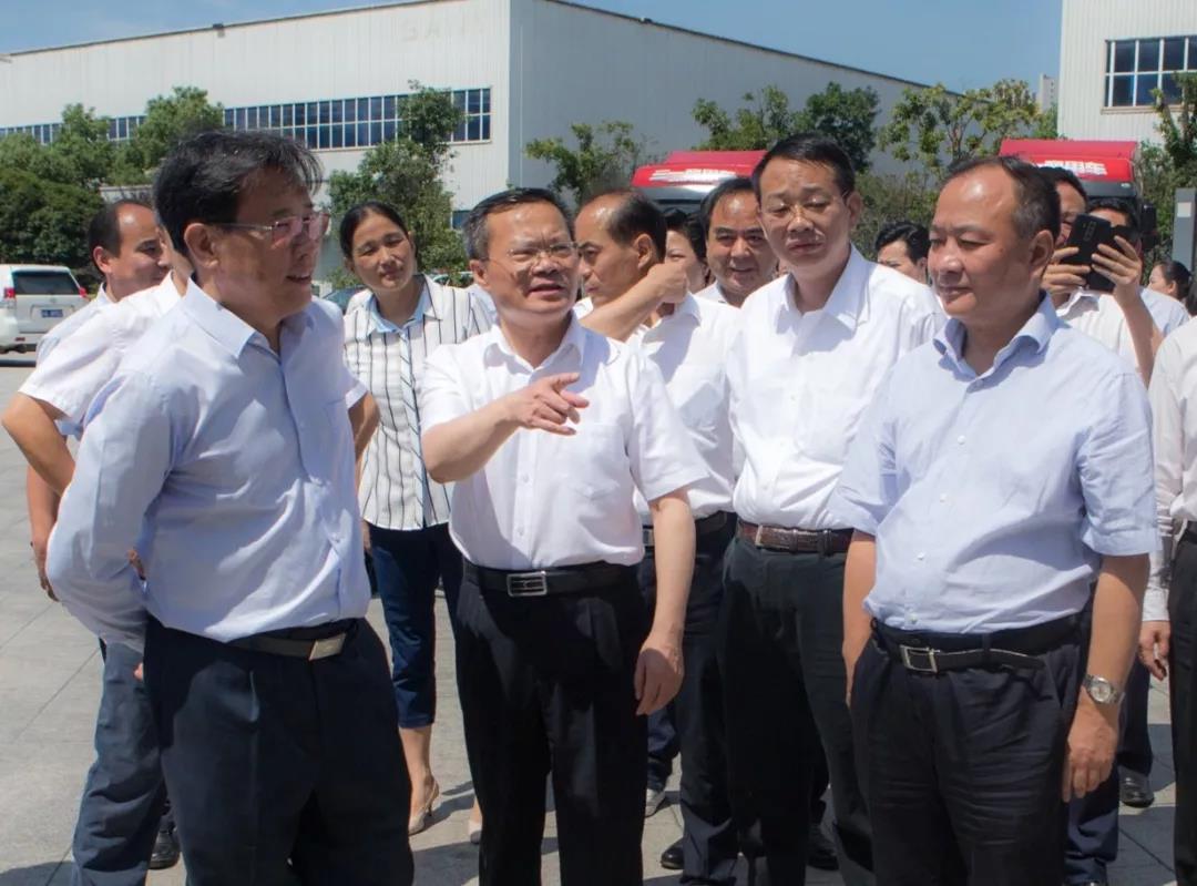 产业链升级赋能标杆,长沙市长胡忠雄肯定三一创新发展