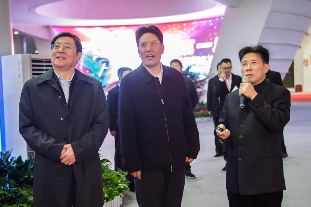 """杜家毫陪同西藏党政代表团赴九五至尊娱乐手机版2考察,共话""""美丽西藏"""""""
