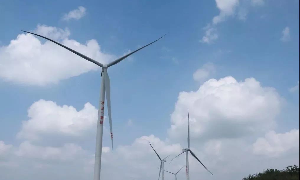 三一东湖塘风场206天全容量并网,创造最快山地风场建设纪录!