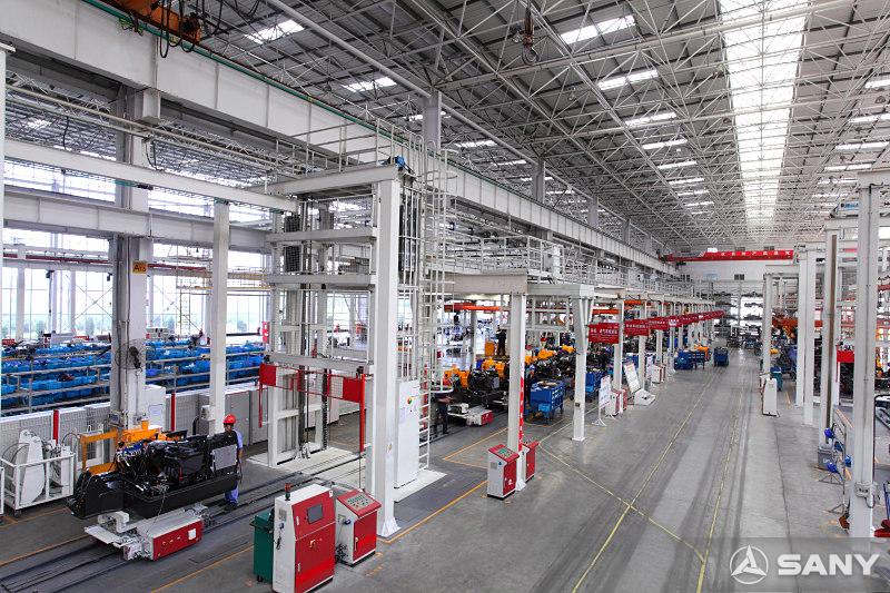 三一厂区内景图片