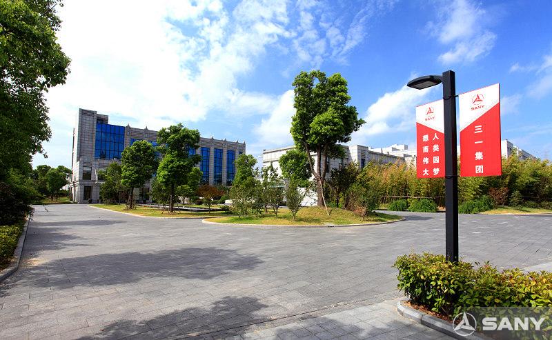 三一昆山产业园街景