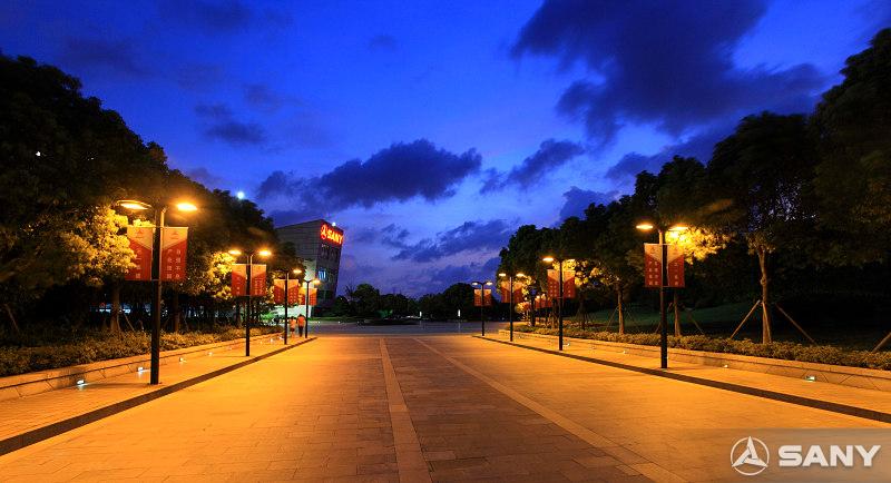 三一昆山产业园夜景