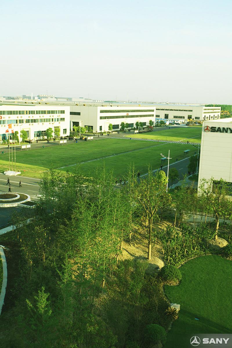 三一临港产业园园区景色