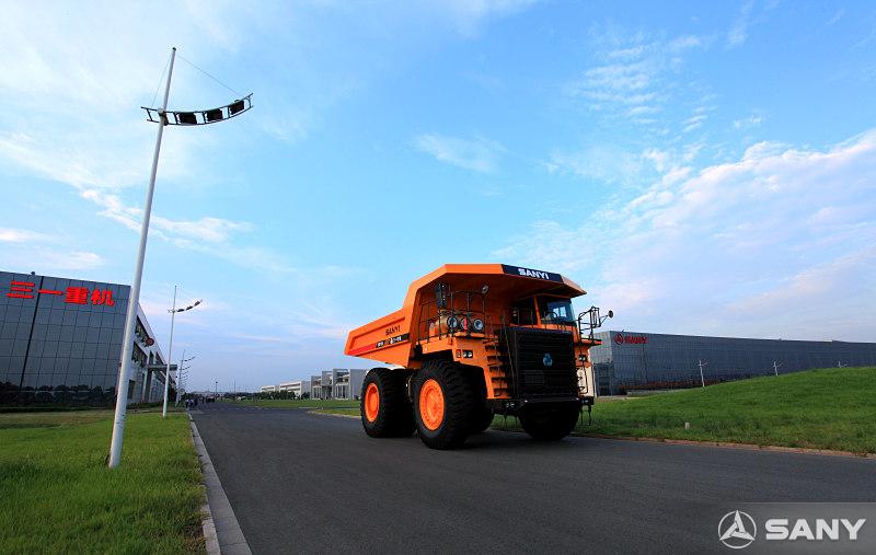 三一昆山产业园园区设备通行道路