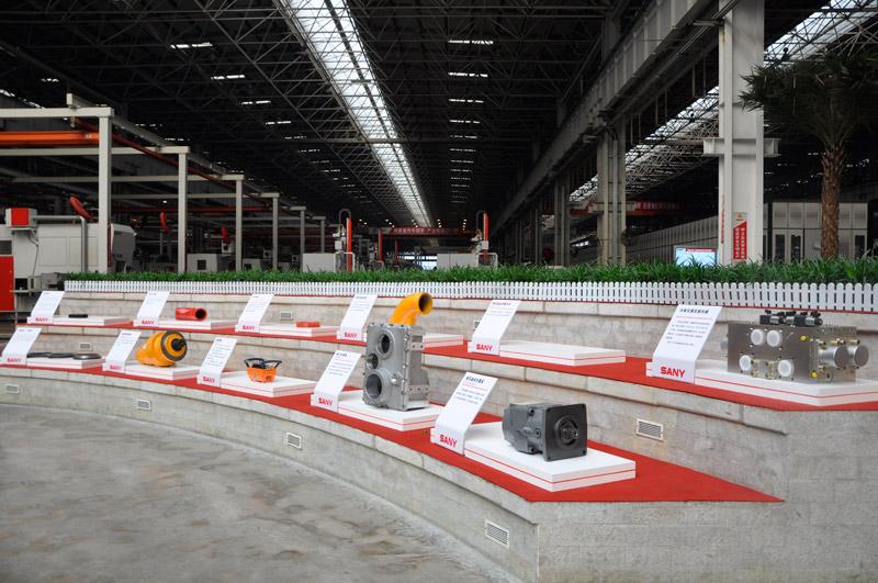长沙三一工业城展览厅