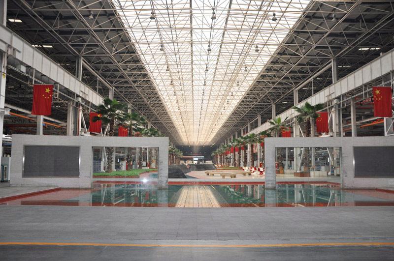 长沙三一工业城18号产房休息区图片