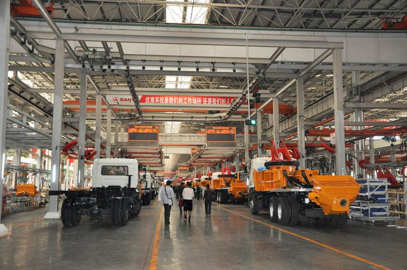 长沙三一工业城18号产房生产车间