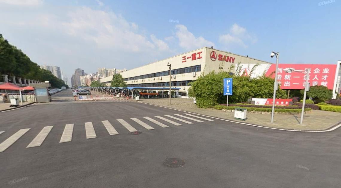 长沙三一工业城停车场