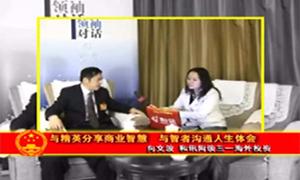 2010两会和讯网采访向文波