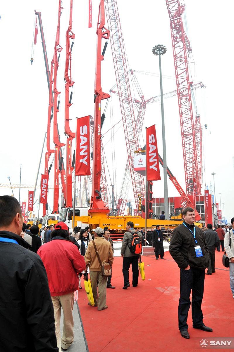 2008上海宝马展三一*新输送泵