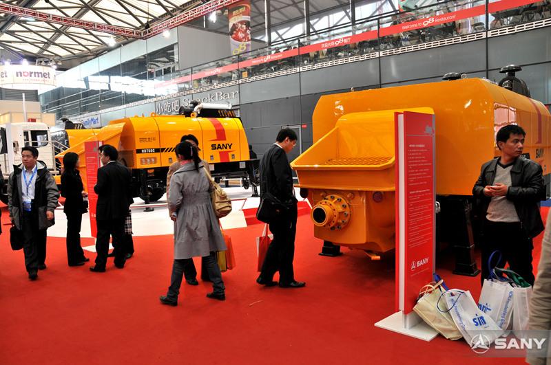 2008上海宝马展三一拖泵