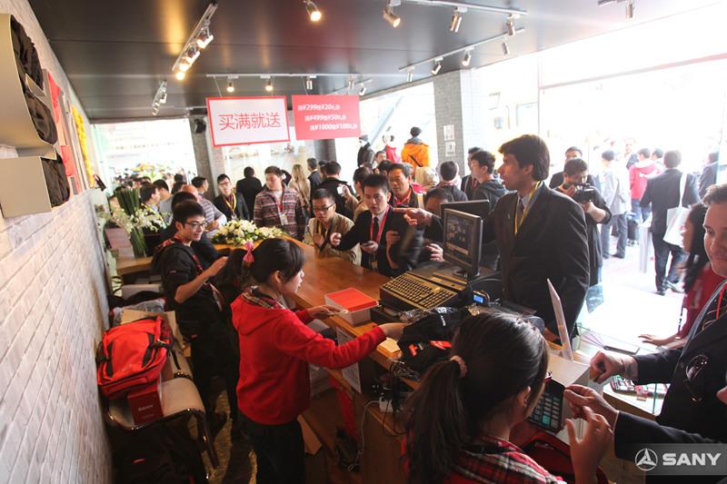 北京国际工程机械展,三一精品店