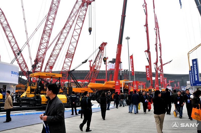 2008上海宝马展三一展区1
