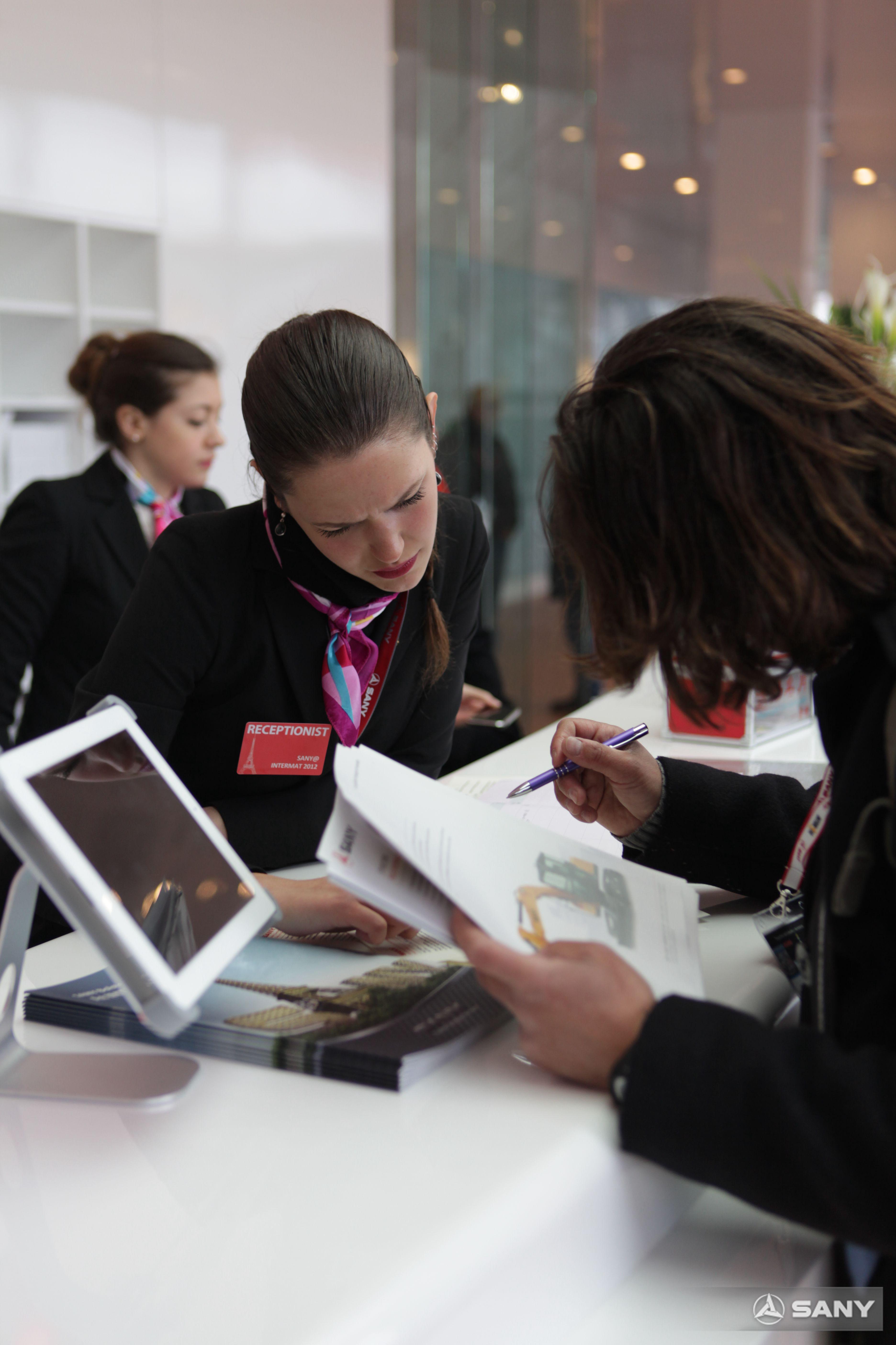 三一展台签约,法国INTERMAT展