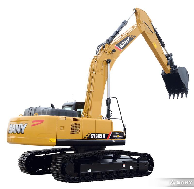 SY305H-10中型液压挖土机