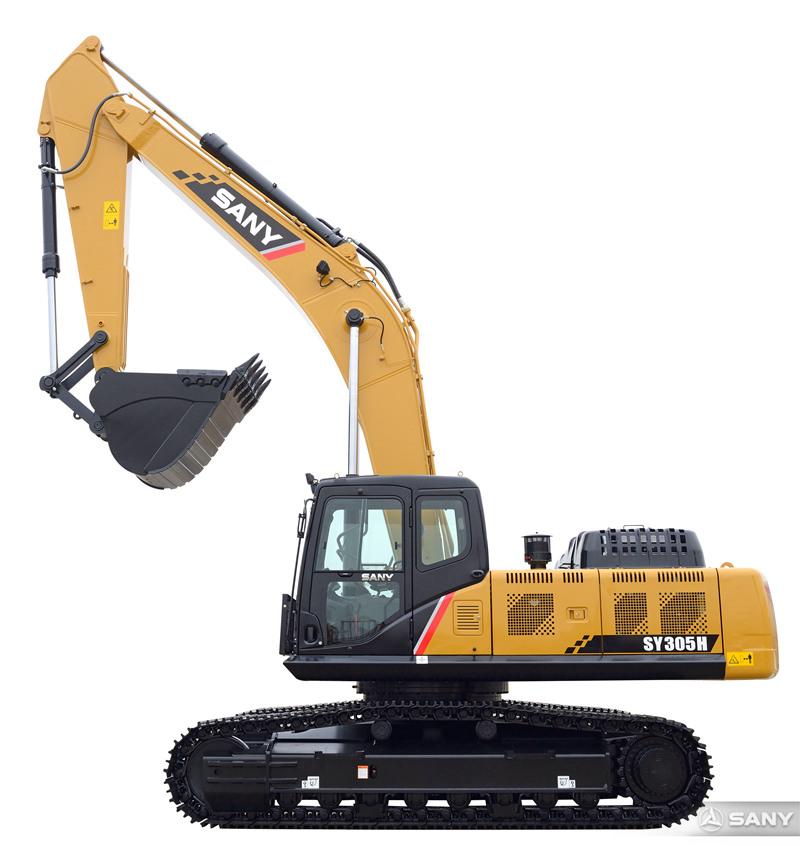 SY305H-10中型液压挖掘机