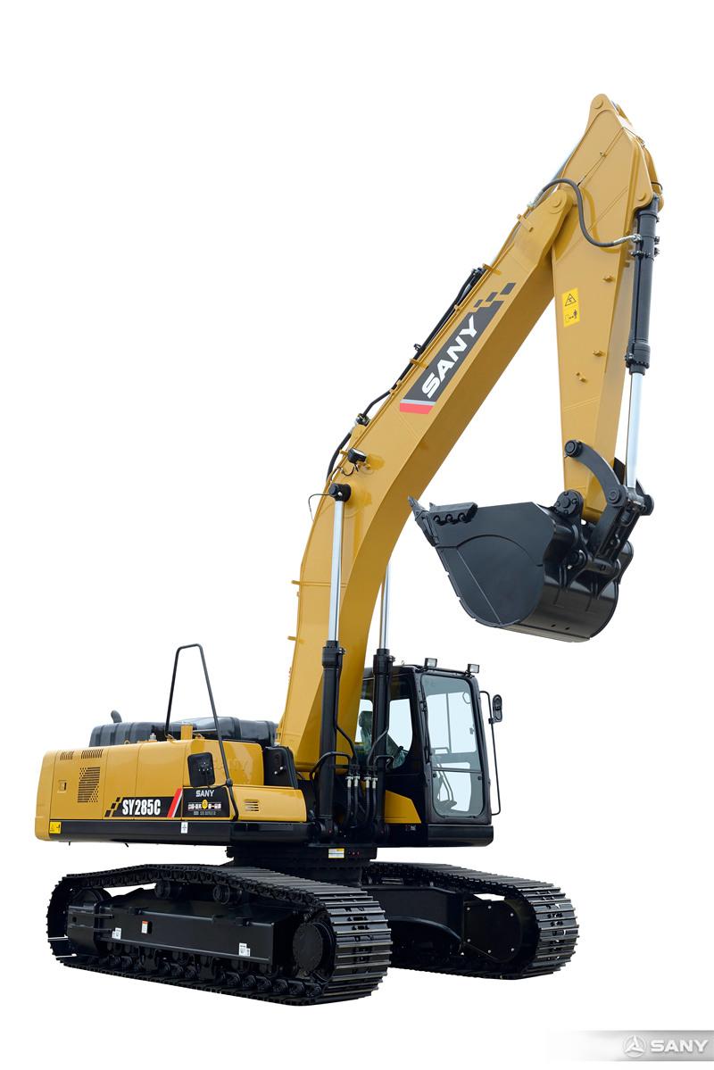 SY285C-10中型液压挖土机机