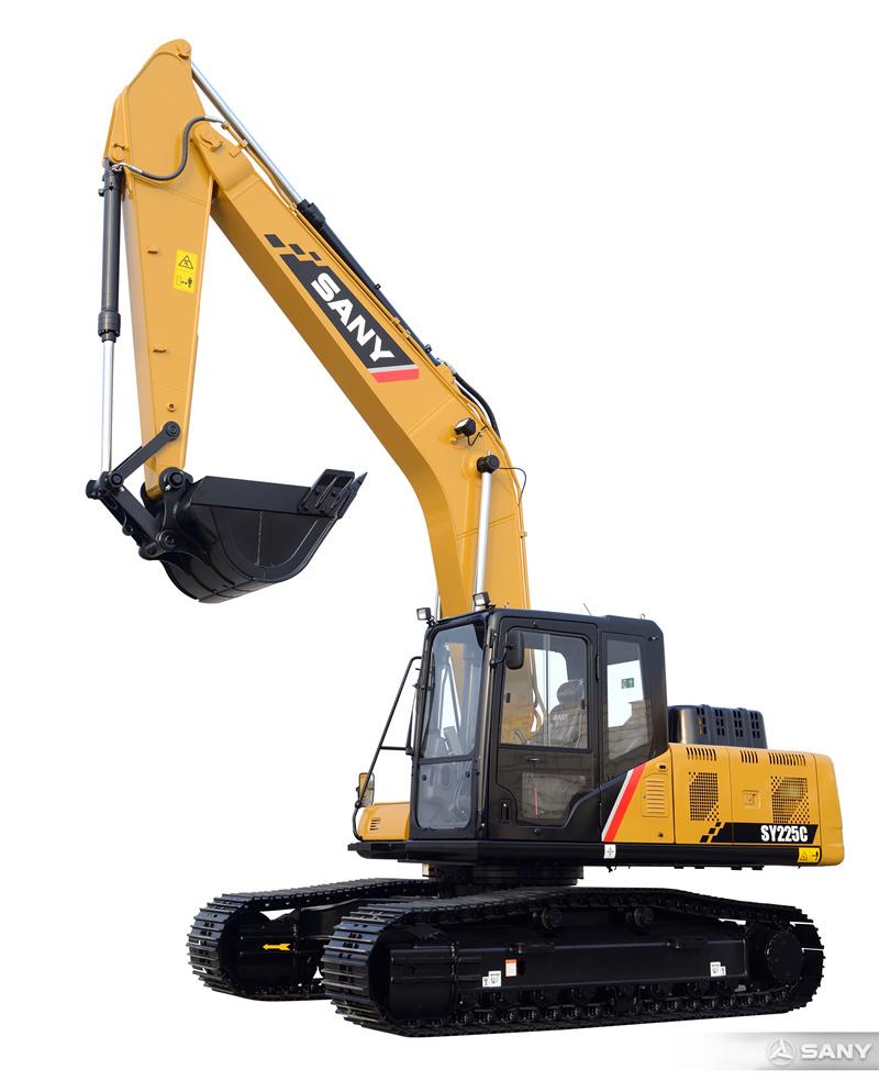 SY225C-10中型反铲挖掘机