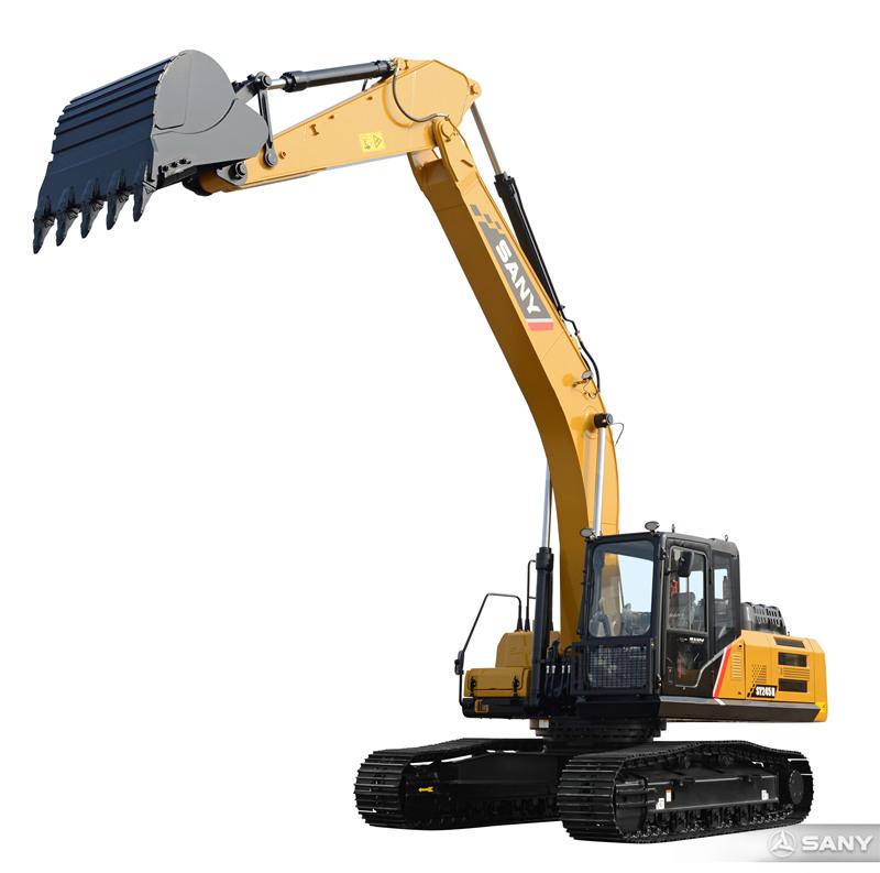 SY245H-10中型挖掘机伸长臂