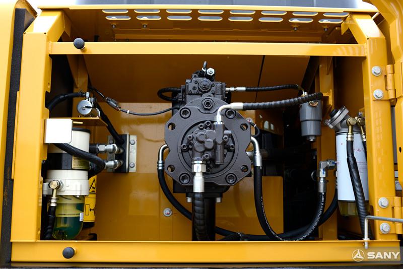 中型液压挖土机柱塞泵