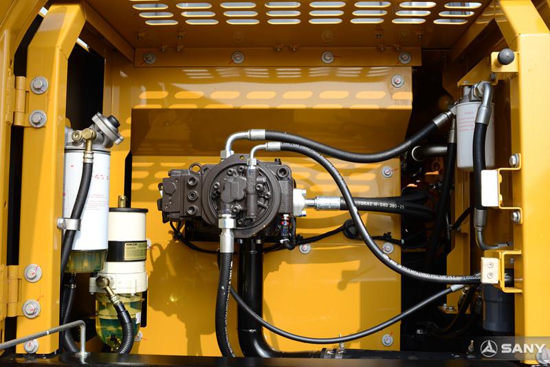 中型挖掘机柱塞泵