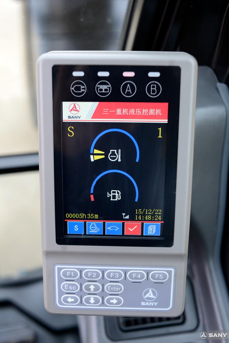 中型液压钩机显示器